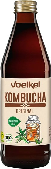 BIO napitek Kombucha Original Voelkel 0,33l