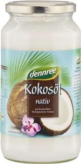BIO kokosovo deviško olje Dennree 950ml