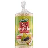 BIO Riževi polnozrnati vaflji brez glutena dennree 100g