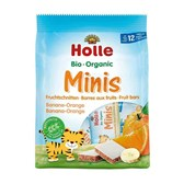 BIO sadne rezine MINI banana pomaranča Holle 8x12,5g