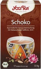 BIO začimbni čaj Čoko s kakavom in cimetom Yogi Tea 17x2,2g