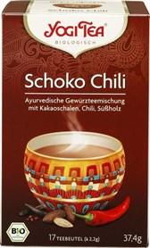 BIO čaj čokolada, čili in začimbe Yogi Tea 17x2,2g