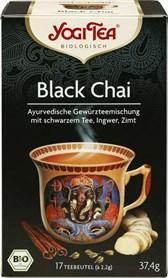 BIO črni čaj s Chai začimbami Yogi Tea 17x2,2g