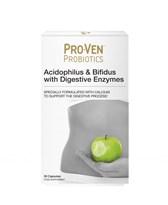 Probiotiki s prebavnimi encimi Proven 30 kapsul