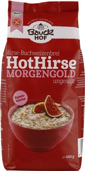 BIO brezglutenska kaša s prosom Hot Hirse Morgengold 400g