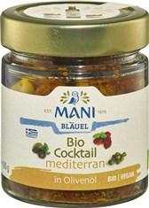 BIO koktejl mediteranskih dobrot v oljčnem olju Mani 180g