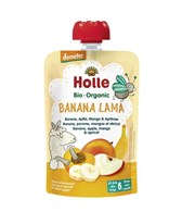 BIO sadni pire banana, jabolko, mango, marelica Holle 100g