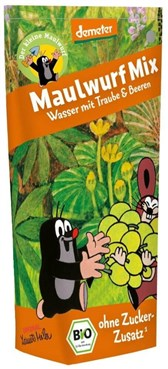 BIO sadni sok krtkov grozdje in jagodičje Maulwurf 200ml