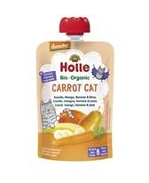 BIO pire Carrot Cat korenje, mango banana, hruška Holle 100g