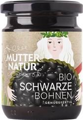 BIO črni fižol v kozarcu Mutter Natur 235g