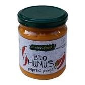BIO humus paprika pekoč Greenfood 200g