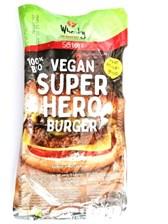 BIO veganski polpet za burger SuperHero Wheaty 200g