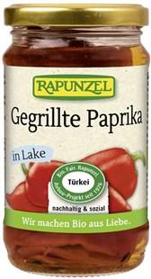 BIO vložena rdeča paprika z žara Rapunzel 320g