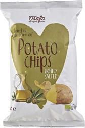 BIO krompirjev čips pečen v oljčnem olju Trafo 100g