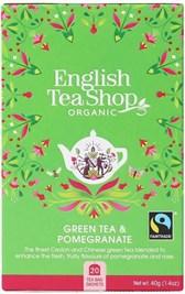 BIO zeleni čaj granatno jabolko ETS 20 vrečic 40g