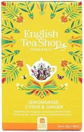 BIO čaj limonska trava, citrusi in ingver ETS 20 vrečic 30g