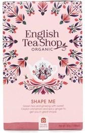 BIO zeleni čaj z ginsengom Shape me ETS 20 vrečic 30g