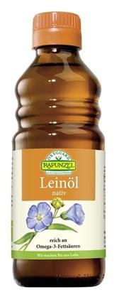 BIO laneno deviško olje OXYGUARD Rapunzel 250ml