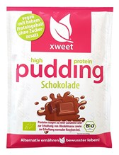 BIO proteinski puding čokolada veganski xweet 61g