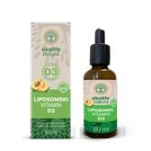 Vitamin D3 liposomski ekolife natura 60ml brez etanola