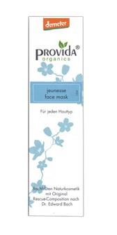 Demeter obrazna maska Jeunesse Provida Organics 50ml