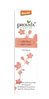 Demeter nočna krema za obraz Mille Fleurs Provida Organics 50ml