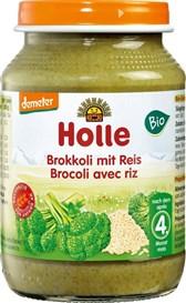 BIO kašica brokoli z rižem Holle 190g