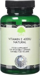 Vitamin E naravni 400 iu 120 kapsul