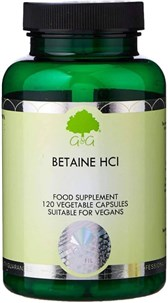 Betain HCl G&G 120 kapsul