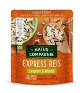 BIO riž dolgoznrati in divji riž Natur Compagnie 250g