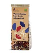 BIO sadni čaj s HASKAP jagodami za pitje in grizljanje 50g