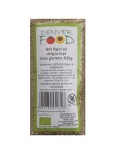 BIO rjavi dolgozrnat riž brez glutena Denver 400g