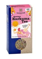 BIO čaj kurkuma s cvetlicami Sonnentor 100g