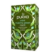 BIO zeleni čaj matcha z meto Pukka 20 vrečk