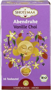 BIO čaj vanilija in Chai začimbe Shoti Maa 16x2g