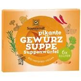 BIO jušne zelenjavne pikantne kocke Sonnentor 6x10g