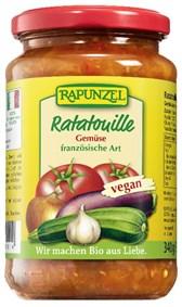 BIO zelenjava Ratatouille v olju Rapunzel 340g