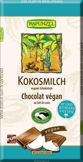 BIO veganska čokolada s kokosovim mlekom Rapunzel 80g