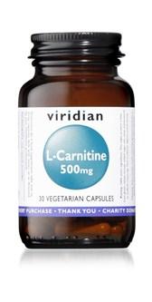 L-karnitin viridian 30 kapsul