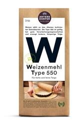BIO moka pšenična tip 550 Antersdorfer 1kg