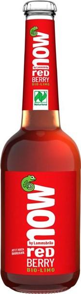 BIO osvežilni napitek rdeče jagode Now 0,33