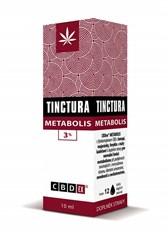 Tinktura Metabolis 3% CBD EX 10ml