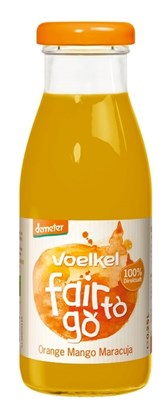 BIO sok pomaranča-mango-marakuja Voelkel 0,25l