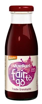 BIO sok grozdje-granatno jabolko Voelkel 0,25l