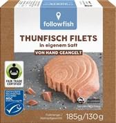 Ribe tuna fileji v lastnem soku followfish 185g