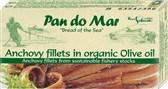 Fileji inčunov v olivnem olju Pan do Mar 50g