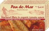 Fileji skuše v bio paradižnikovi omaki Pan do Mar 120g