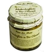 Fileji skuše v ekstra deviškem olivnem olju Pan do Mar 250ml