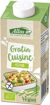 BIO krema za gratiniranje Gratin Cuisine Allos 200ml