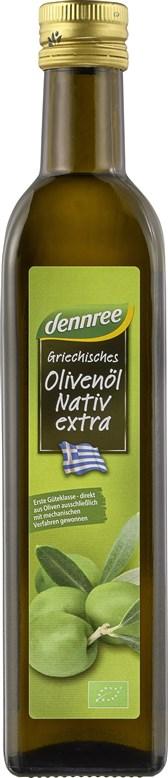 BIO ekstra deviško oljčno olje iz Grčije DEN 0,5l